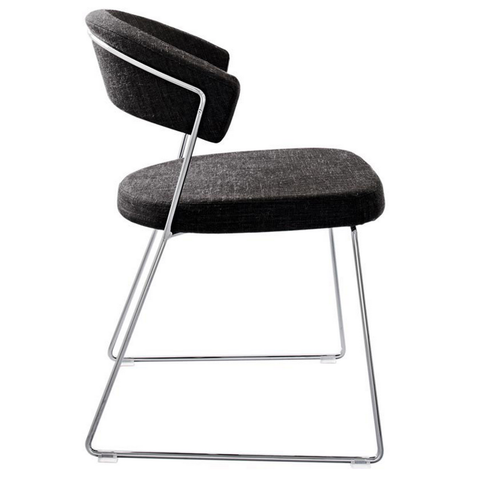 calligaris new york fabric chair