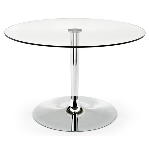 calligaris planet large glass dining table