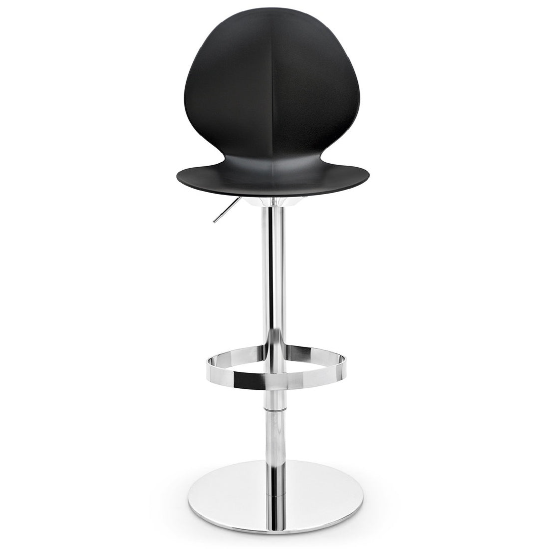 Calligaris Basil Adjustable Bar Stool In Black ...