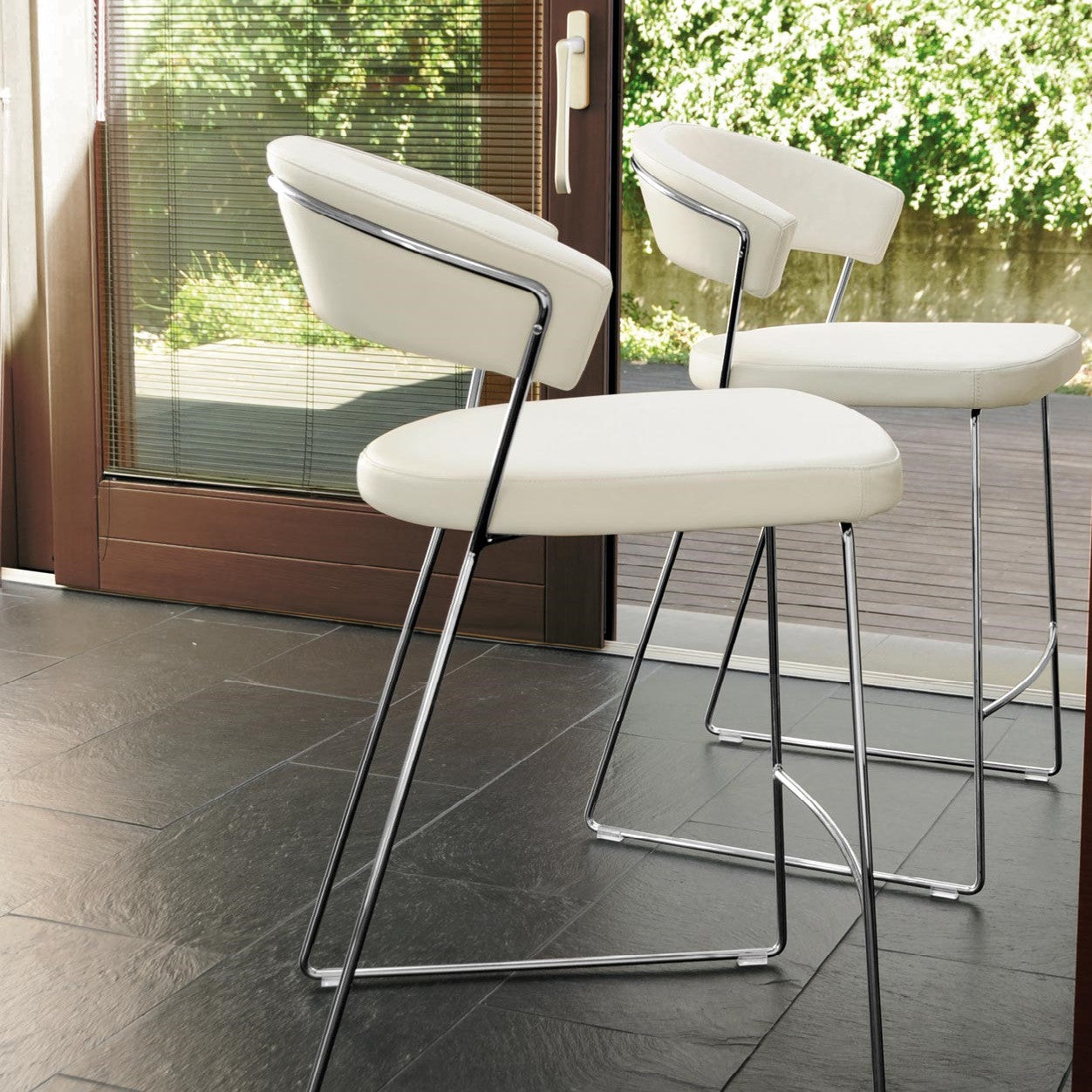 cannubia new york counter stool | modern seating