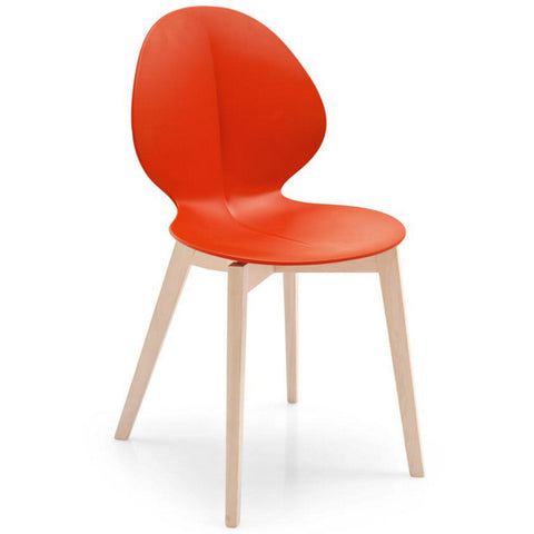 calligaris basil w dining chair