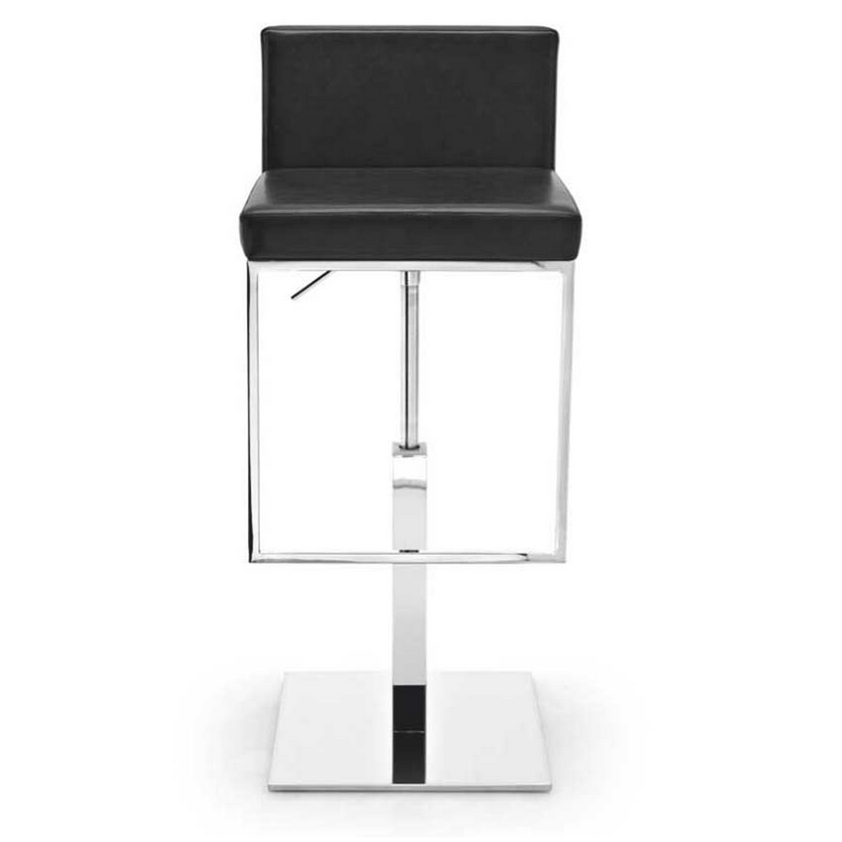 calligaris even plus adjustable swivel bar stool . calligaris even plus swivel barstool  modern barstools