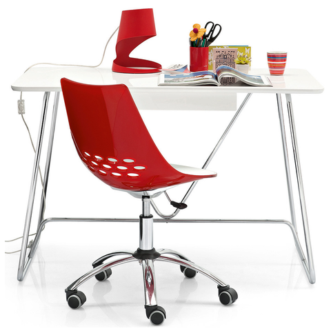 calligaris jam swivel office chair staged