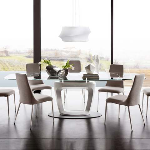 calligaris orbital dining table