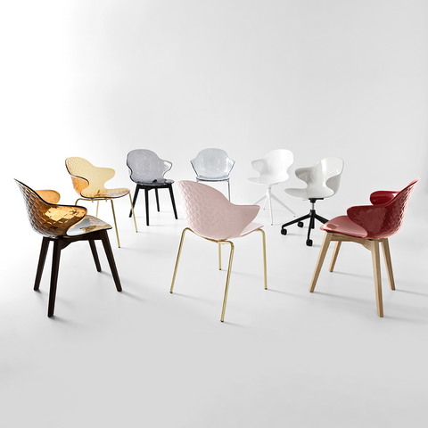 calligaris saint tropez chairs