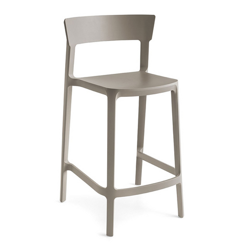 calligaris skin counter stool