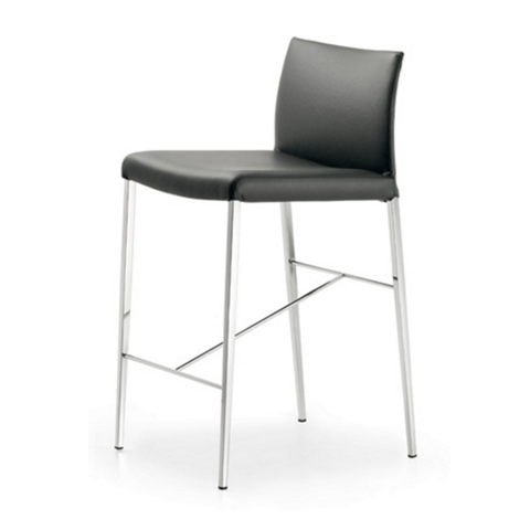 cattelan anna counter stool in black