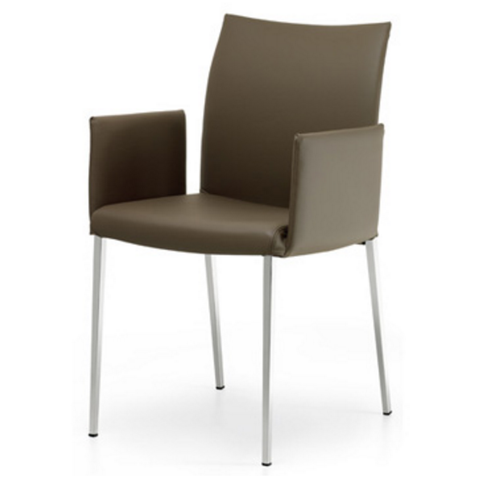cattelan anna lowback dining chair with arms