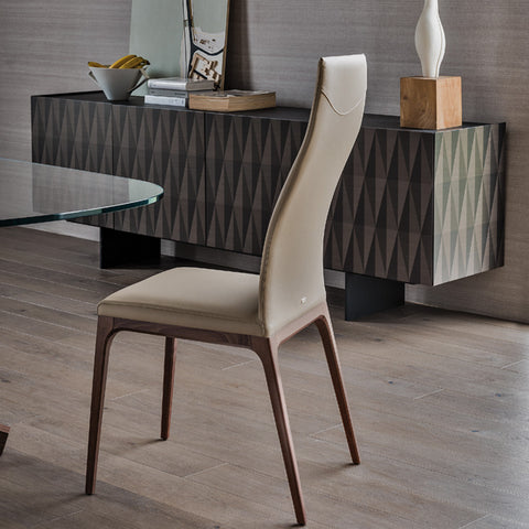 cattelan arcadia high back dining chair