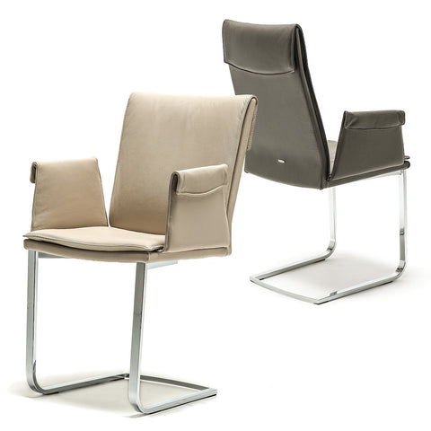 cattelan liz high back dining chair w/arms