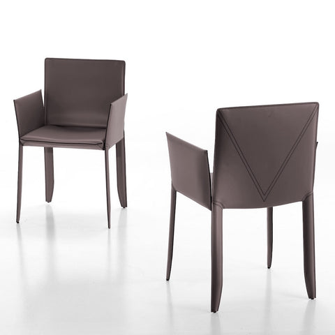 cattelan piuma dining chair with arms