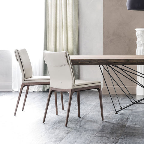 cattelan sofia high back dining chair
