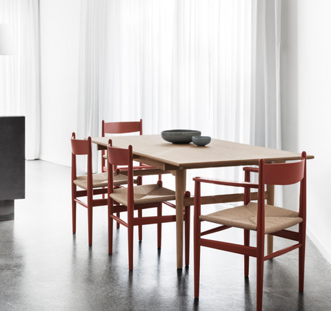 carl hansen ch36 dining chairs