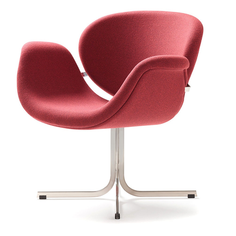 artifort tulip midi chair with cross base
