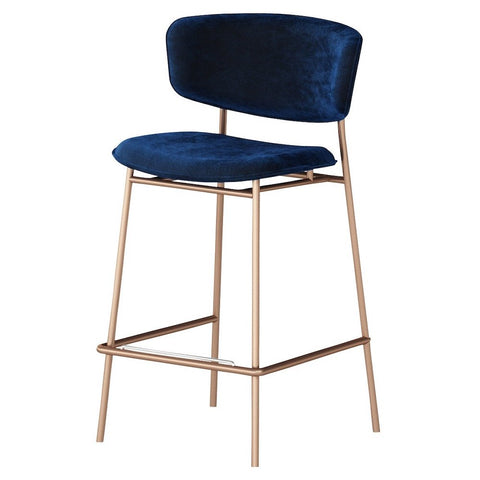 calligaris fifties counter stool