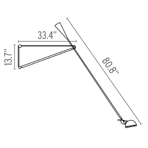 flos 265 wall lamp specs