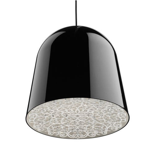 flos can can suspension lamp black