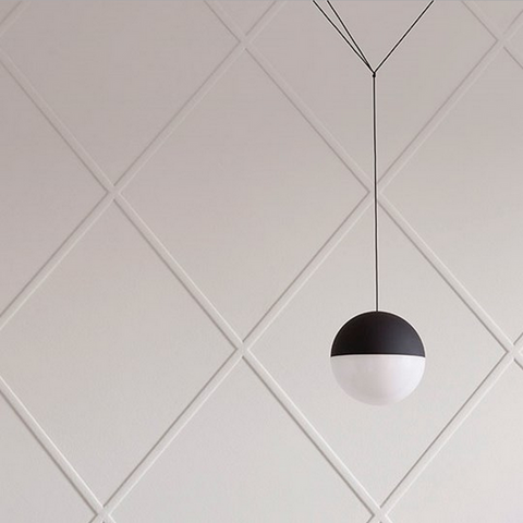 flos string suspension lamp ball