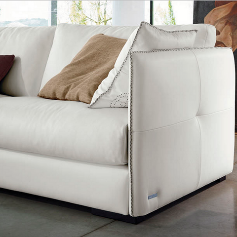 modern couch | gamma alfred sofa | leather