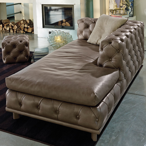 gamma aston sectional with chaise