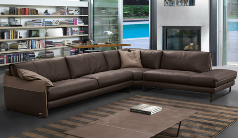gamma mood sectional sofa