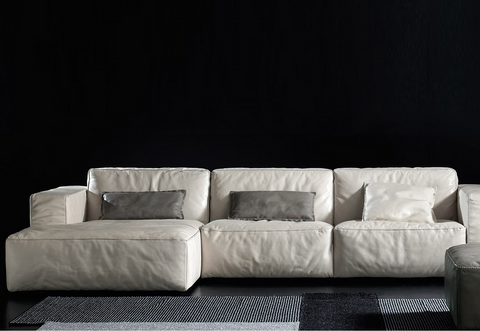 gamma oxer sectional sofa