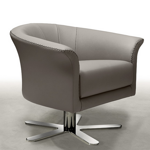 gamma oyster lounge chair