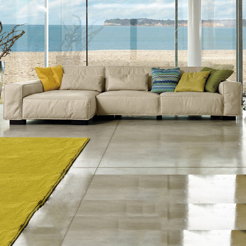 gamma soho sectional with chaise