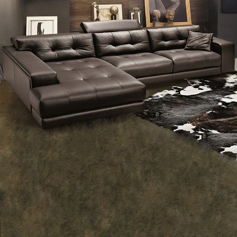 gamma soleado sectional sofa with chaise