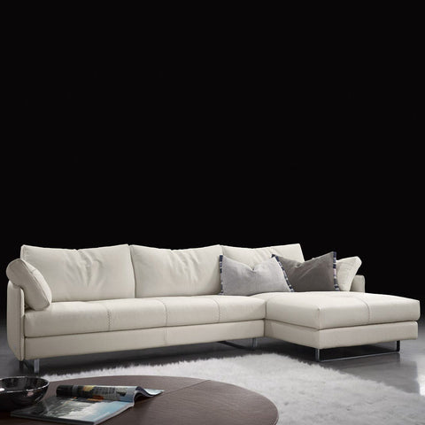 gamma swing sectional with chaise