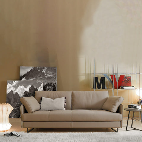 gamma swing sofa staged