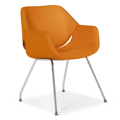 artifort gap side 4-leg chair