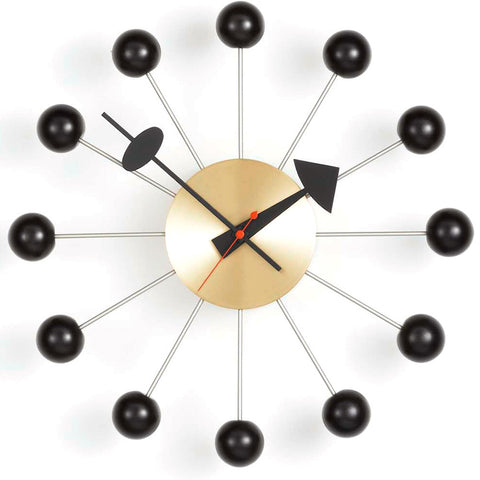Copy of Copy of vitra ball clock in black