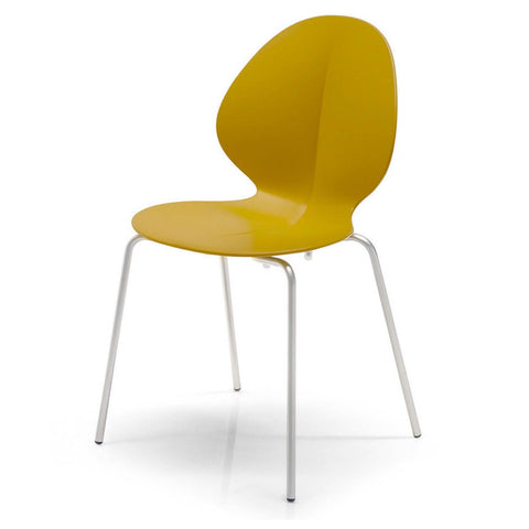 calligaris basil stackable chair