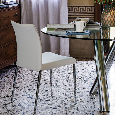 cattelan anna dining chair in white