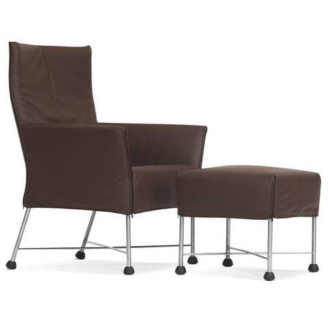 montis charly lounge chair and ottoman