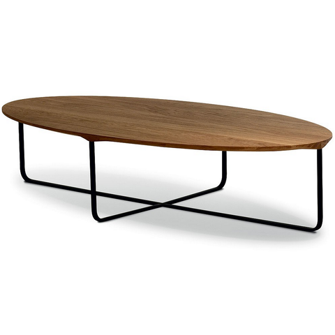 montis flint 140 oval coffee table