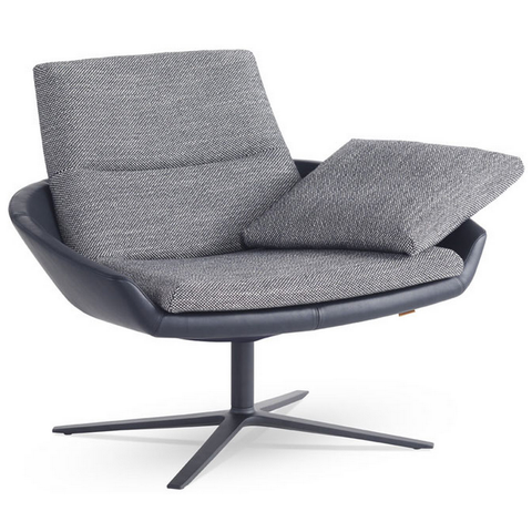 hugo low back easy chair | montis