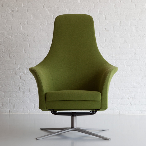 montis marvin lounge chair in green