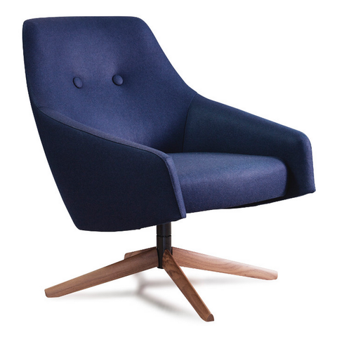 montis puk low lounge chair
