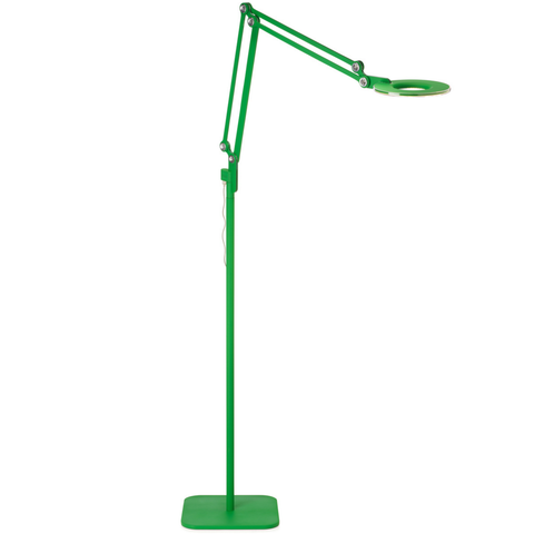 pablo link floor lamp in green