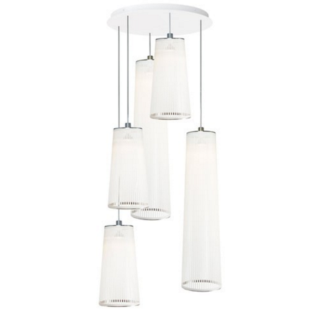 pablo mixed solis 5 chandelier