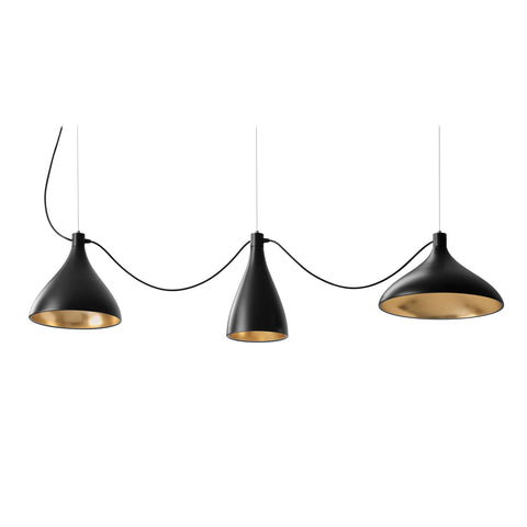 pablo swell 3 string suspension lamp