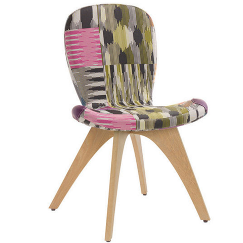 artifort patch 01 chair with 4 leg base missoni