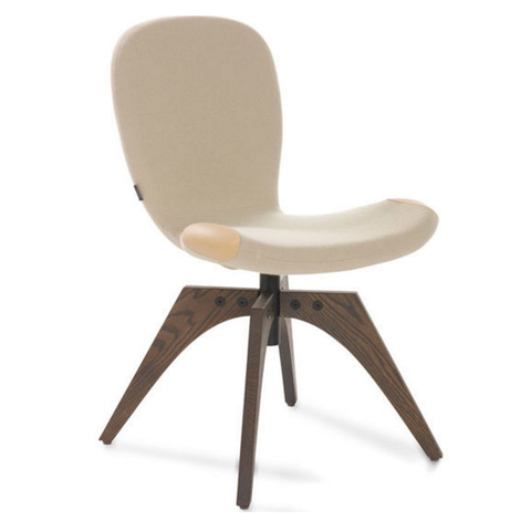 artifort patch 01 swivel chair with 4 leg base