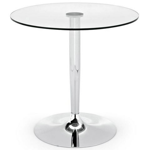 planet glass bar table