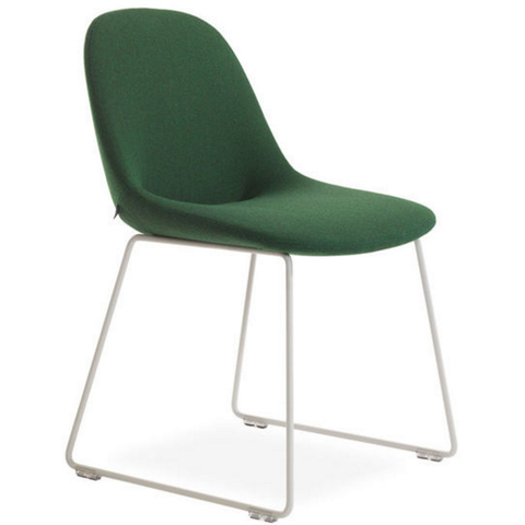 artifort beso sledge base side chair