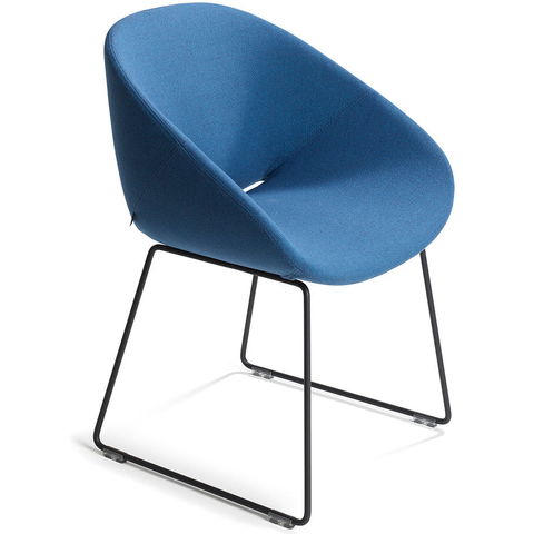 artifort beso sledge base armchair