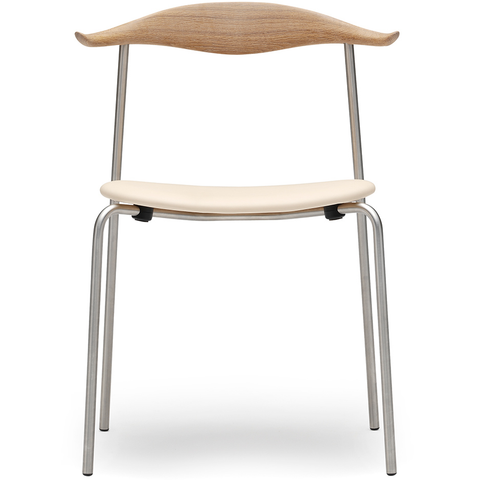 carl hansen hans wegner ch88 stacking chair with upholstered seat