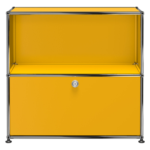 usm haller storage c1b in yellow
